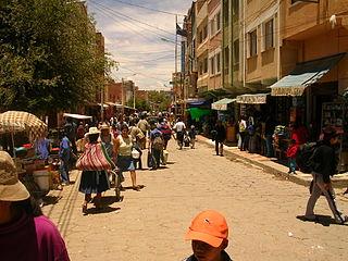 Modesto Omiste Province Province in Potosí Department, Bolivia