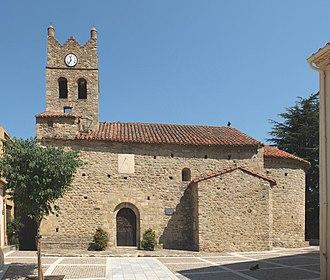 Villelongue-dels-Monts - Image: Villelongue dels Monts Église Saint Étienne (sud)