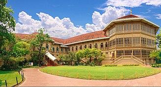 Vimanmek Mansion - Vimanmek Mansion, built in 1900 by King Chulalongkorn.