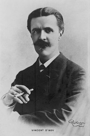 Vincent d'Indy - Vincent d'Indy, photo: Library of Congress