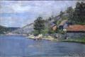 Vindfangerbukten ved Drøbak Karl Jensen-Hjell 1886 clean1.png