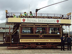 Vintage tram at the Wirral Bus & Tram Show - DSC03148.JPG
