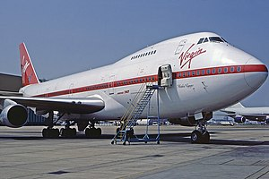Virgin Atlantic - Boeing 747-200 Maiden Voyager operated the first scheduled Virgin Atlantic service on 22 June 1984