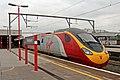 "Virgin Class 390, 390126 ""Virgin Enterprise"", Stockport railway station (geograph 4004981).jpg"