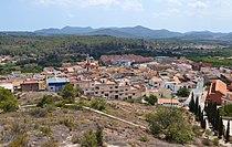 Vista d'Alfara de la Baronia des de l'ermita de la mare de Déu dels Afligits.JPG