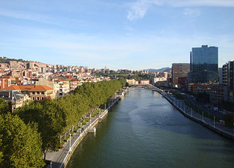 Estuary of Bilbao - The estuary of Bilbao.