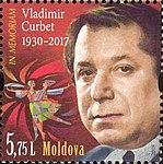 Vladimir Curbet 2018 stamp of Moldova.jpg