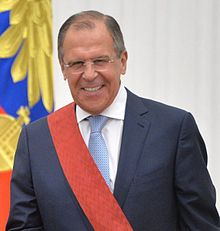 Vladimir Putin and Sergey Lavrov Kremlin 21 May 2015 (cut).jpg