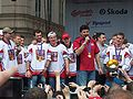 Vladimir Ruzicka and Czech ice hockey team 2010.jpg