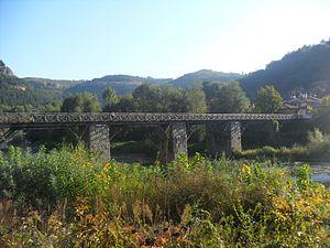 Vladishky bridge,Veliko Tarnovo,Bulgaria