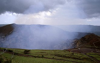 Masaya Volcano - View of the crater.
