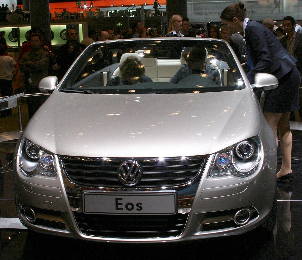 Volkswagen Eos Wikipedia - Eos car show