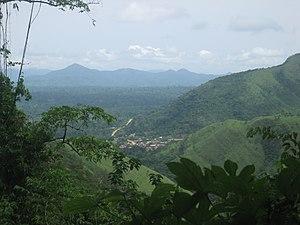 Geography of Ghana - Akwapim-Togo Ranges