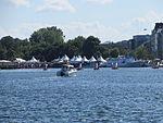 Vom Flensburger Drachenbootrennen, 2013, Bild 01.JPG