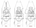 Vostok and Voskhod crew seating.png