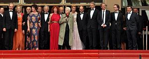 You Ain't Seen Nothin' Yet (film) - Cast and director at the 2012 Cannes Film Festival.