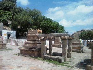 Nava Brindavana - Vyasaraja Theertha Shrine