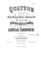 W. Tarnowski - Quatour Re-majeur pour Deur Violons, Viola et Violoncelle.pdf