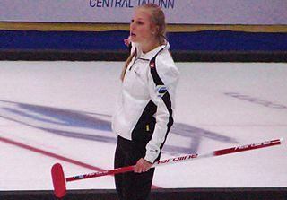 Briar Hürlimann Swiss curler