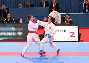 World Karate Federation - Gyaku Zuki at the WC 2012 in Paris