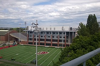 Martin Stadium - West End-Zone Project nearing completion in May 2014
