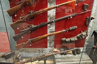 Forte Tre Sassi - WWI rifles