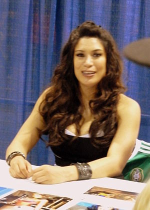 Melina Perez - Perez at Wizard World in Chicago 2012