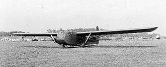 Waco CG-4 - The XPG-1 prototype