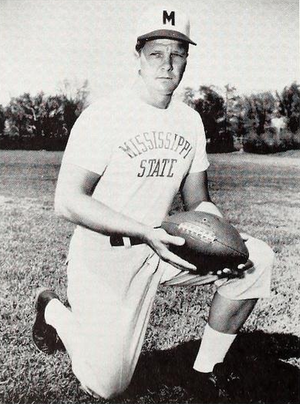 Wade Walker - Walker pictured in Reveille 1956, Mississippi State yearbook