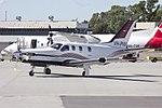 Wagga Air Centre (VH-PVM) Socata TBM-850 taxiing at Wagga Wagga Airport.jpg