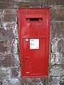 Wall letterbox in the Bridgegate - geograph.org.uk - 1275669.jpg