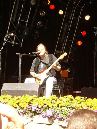 Walter Trout - Walter Trout in concert at Skanderborg Festival 2007, Denmark