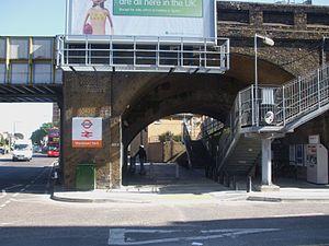 Wanstead Park railway station - Image: Wanstead Park stn entrance