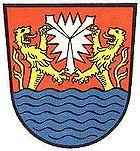 Das Wappen von Sachsenhagen