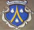 Wappen des Jakob Baunach im Innenhof des Rathauses Würzburg.JPG