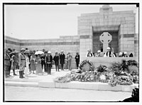 War cemetery, Gaza-Belah, April 28, 1925 LOC matpc.08235.jpg