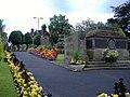 War memorial and remembrance garden - geograph.org.uk - 626169.jpg