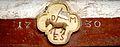 Wasselonne linteau agneau étendard 1730.jpg