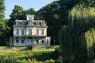 Waterloo Village, New Jersey - Image: Waterloo Village, NJ Peter D. Smith House