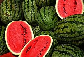 "Obrázek ""http://upload.wikimedia.org/wikipedia/commons/thumb/4/40/Watermelons.jpg/270px-Watermelons.jpg"" nelze zobrazit, protože obsahuje chyby."