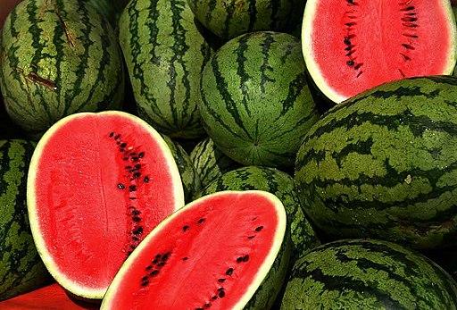 Watermelons, Hitze, kühlende Nahrung, Obst