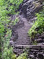 Watkins Glen 10 The Narrows stairs.jpg