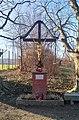 Wayside cross near Vösendorfer Street in Inzersdorf, Liesing, Vienna, Austria PNr°0684.jpg