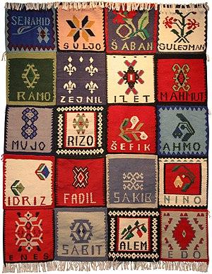 Bosfam - Srebrenica Memorial Quilt
