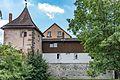 Weißenburg in Bayern, Stadtbefestigung, Schanzmauer 14-20160813-001.jpg