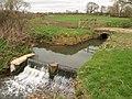 Weir, Hurst Brook - geograph.org.uk - 1208194.jpg