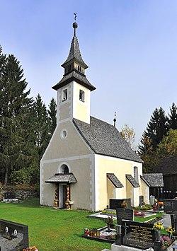 Weitensfeld Zweinitz Friedhofskapelle hl Michael SW-Ansicht 25102012 155.jpg