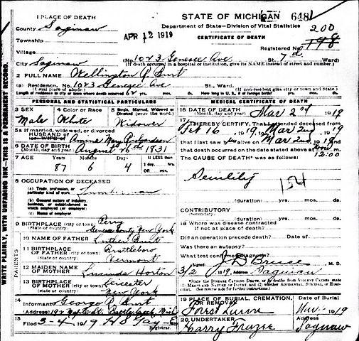 File:Wellington R. Burt Death Certificate.jpg - Wikimedia Commons