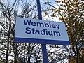 Wembley Stadium stn signage.JPG