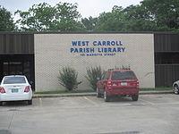 West Carroll Parish, LA, Library IMG 7363